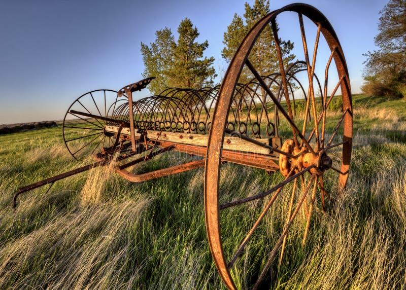 Antique Farm Equipment stock images