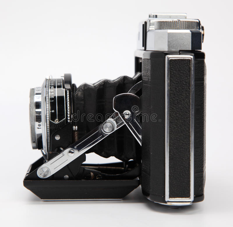 Antique film camera stock photos