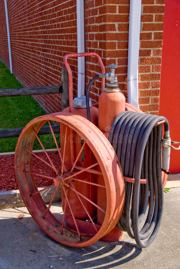 Download Antique Fire Extinguisher stock image. Image of tank - 11211705