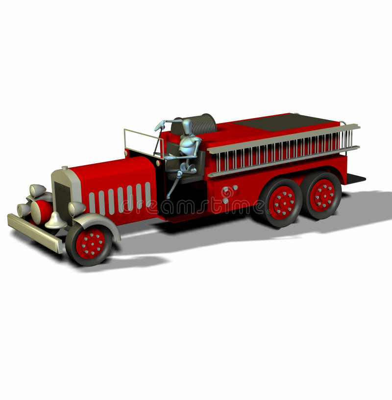 Download Antique Fire Truck Stock Image - Image: 12945161