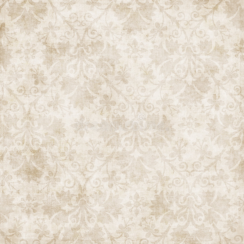 Antique Floral Background stock photo