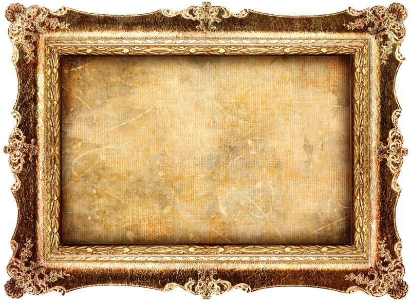 Antique frame stock image. Image of gold, handmade, background ...