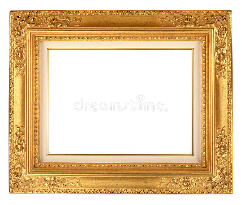 Download Antique Frame-11 stock image. Image of matted, blank, culture - 2734483