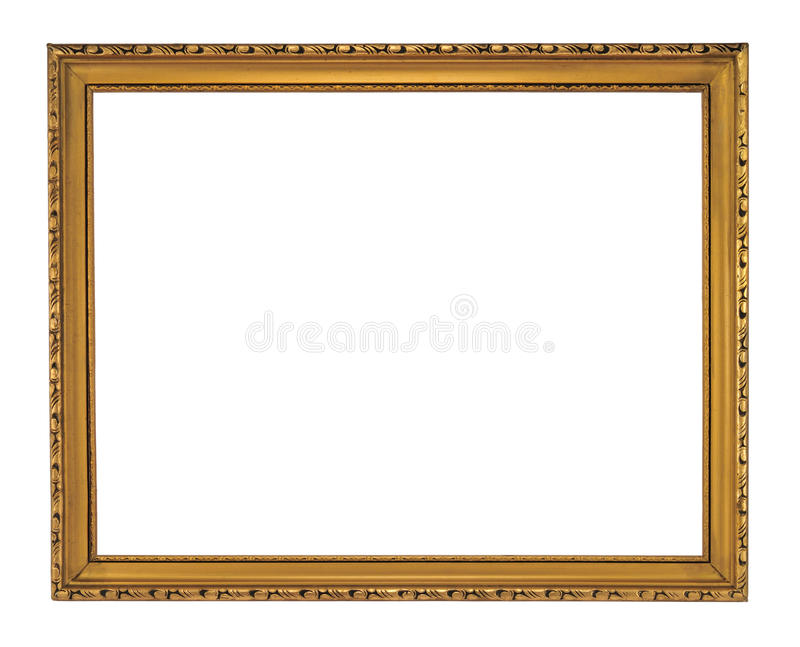 Download Antique frame stock photo. Image of blank, isolated, shape - 13425462