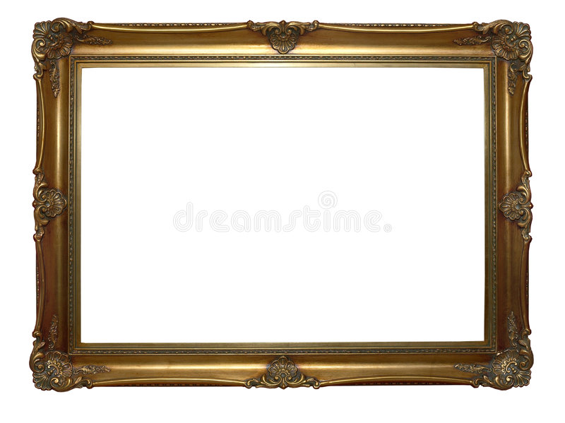 Download Antique frame stock photo. Image of framework, golden - 2178864