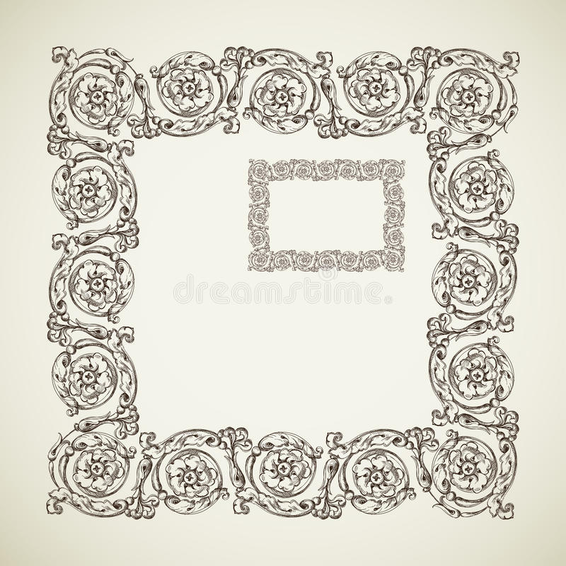Download Antique Frames Royalty Free Stock Photo - Image: 23744745