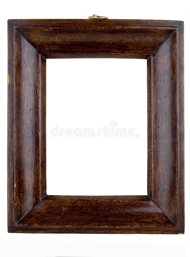 Antique frames. From the early 1900's with work paths royalty free stock image