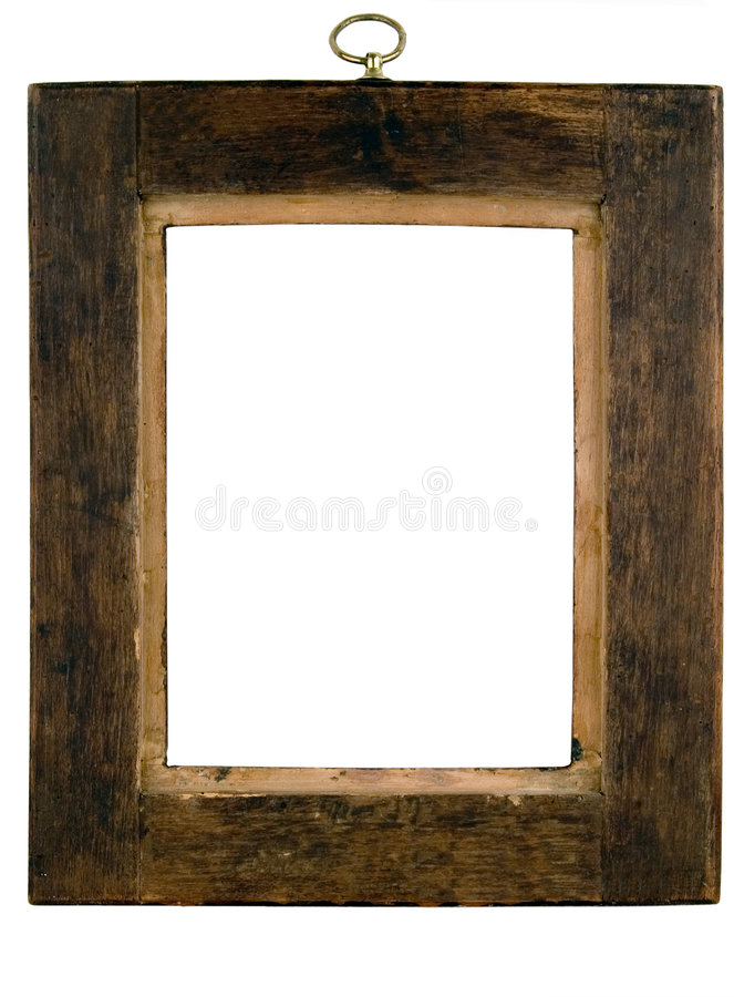 Antique frames. From the early 1900's with work paths royalty free stock photos