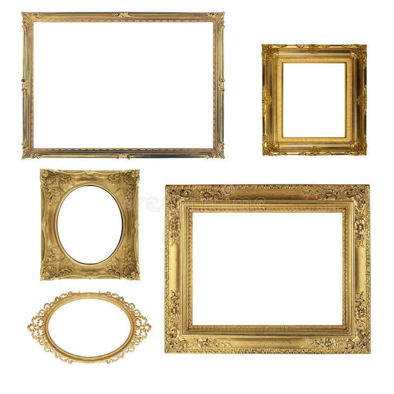 Free Antique Frames Royalty Free Stock Photo - 8294565