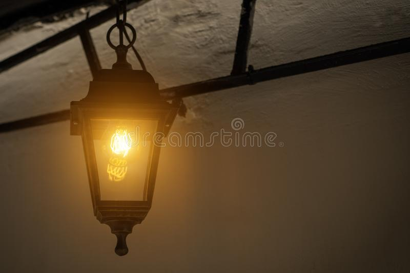 Download Garden Lights With Solar Battery Stock Image   Image Of Beauty,  Electricity: 113252157