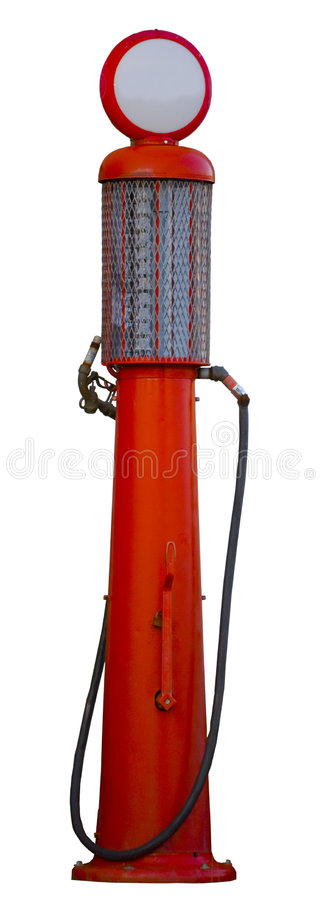 Download Antique Gas Pump stock photo. Image of petrol, antique - 7054014