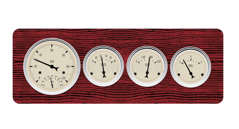 Download Antique Gauges Royalty Free Stock Photos - Image: 6794048