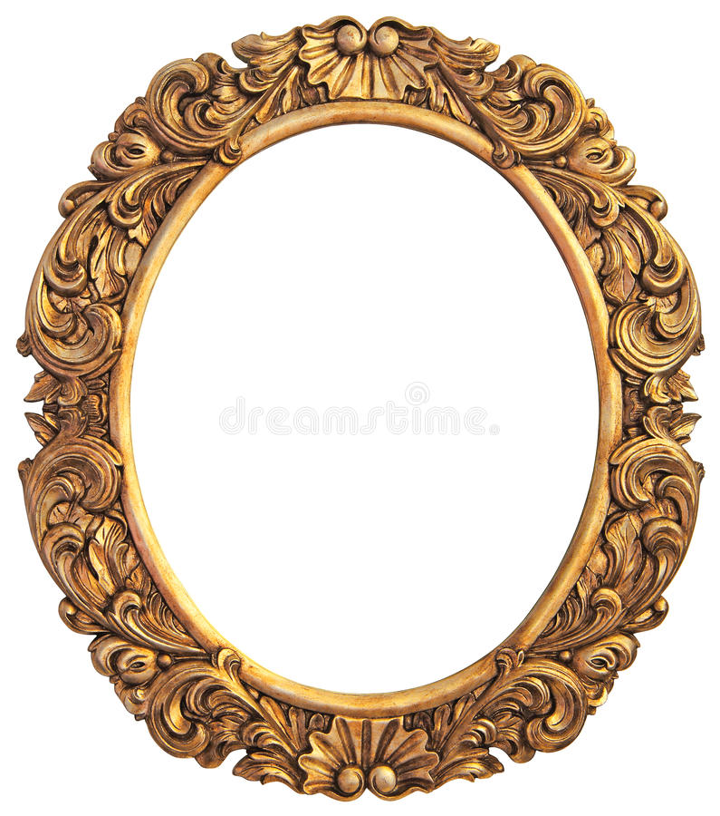 Download Antique gilded Frame stock photo. Image of aged, background - 34808340