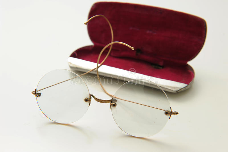 Download Antique glasses stock image. Image of optic, background - 18809817