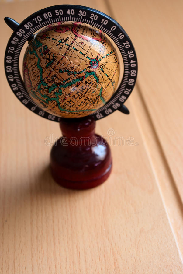 Download Antique globe stock image. Image of orange, aged, geographical - 19297489
