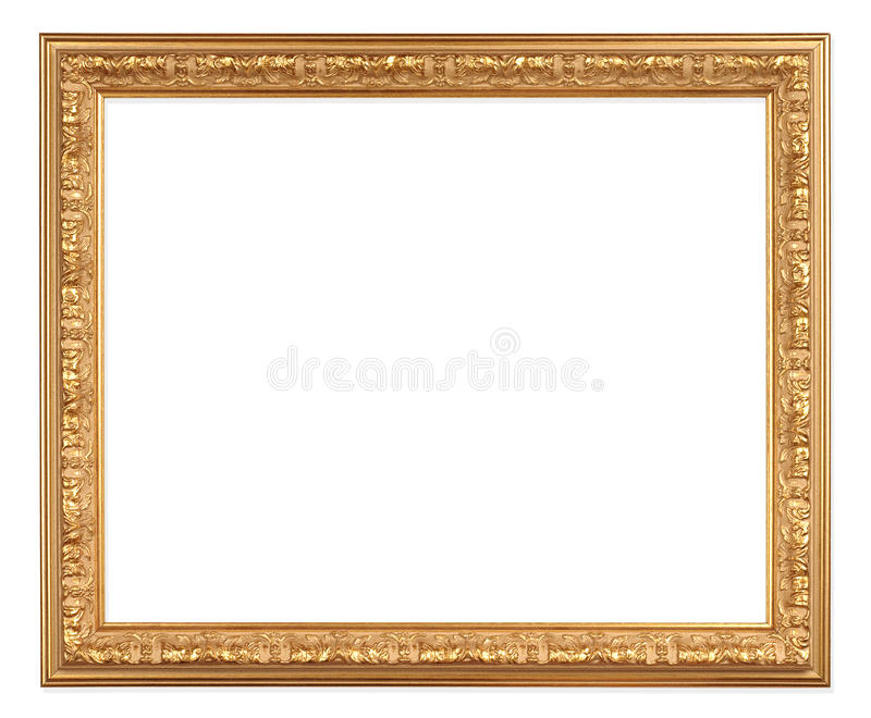 Download Antique gold frame stock photo. Image of photo, design - 19909764