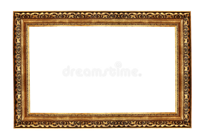 Download Antique gold frame stock image. Image of gold, luxurious - 21407495