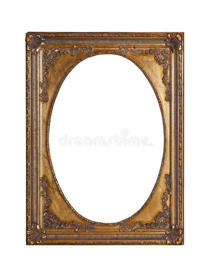 Free Antique Gold Frame For Painting Royalty Free Stock Image - 78847636