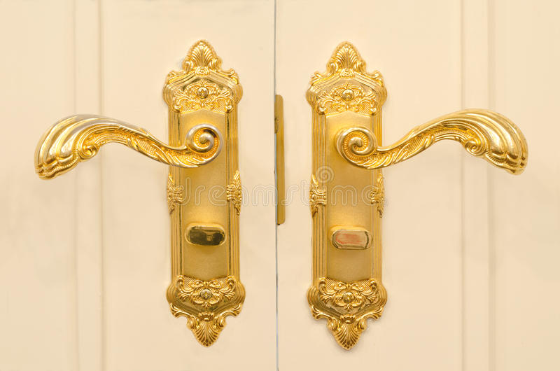 Download Antique Gold Plated Door Handle Stock Image   Image Of Classic,  Home: 67815287