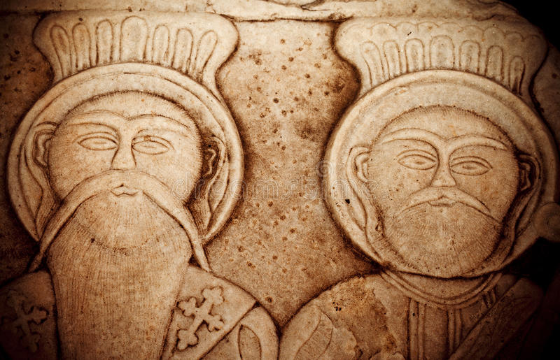 Antique Greek Art Barble Background stock photos