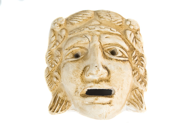 Download Antique greek mask stock photo. Image of history, museum - 3530928