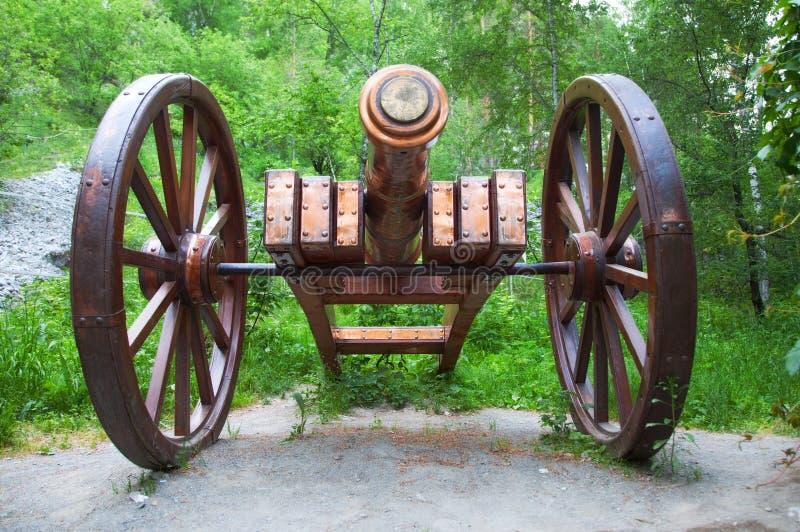 Antique Gun Battle Royalty Free Stock Photography