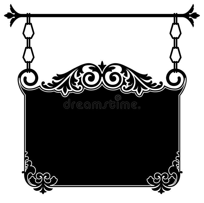Antique Hanging Sign
