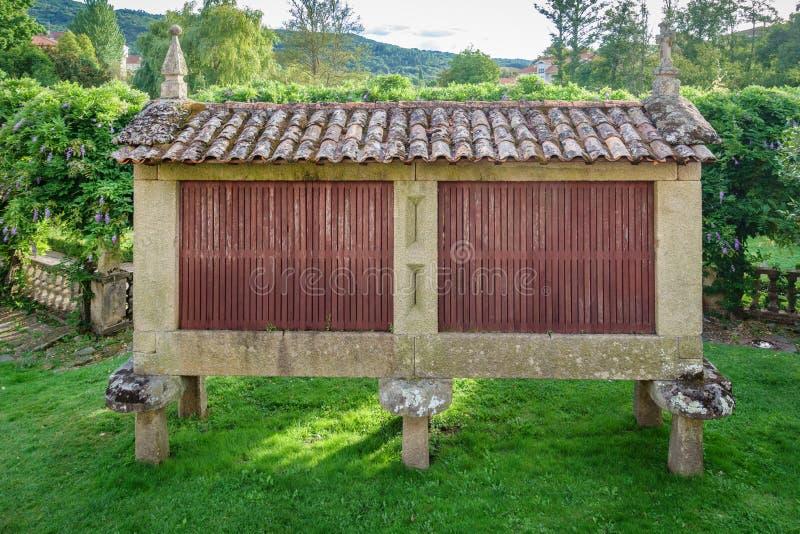 Horreo, a typical spanish granary royalty free stock photo