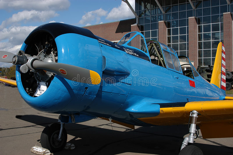 antique ii самолета стоковое фото rf