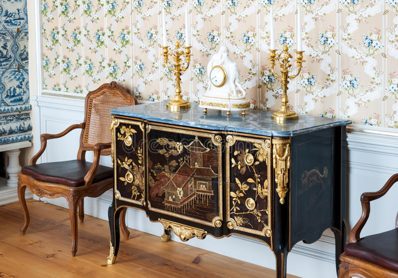 Antique interior royalty free stock images
