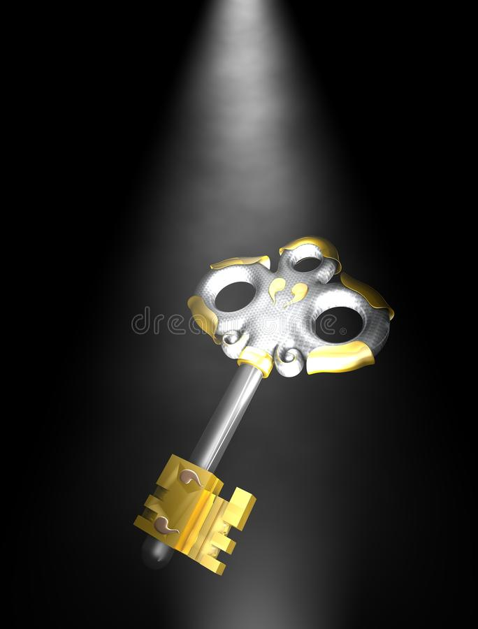 Download Antique Key Royalty Free Stock Photos - Image: 23730558