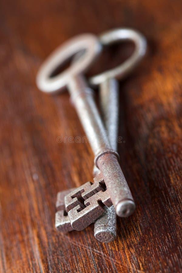 Antique Key - Shallow Dof Royalty Free Stock Photo