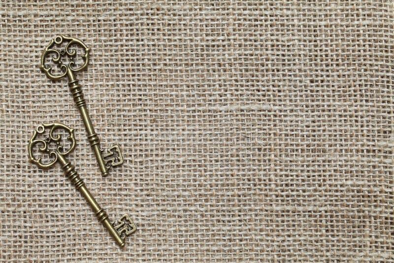 Download Antique keys stock image. Image of clothing, linen, hemp - 25236797