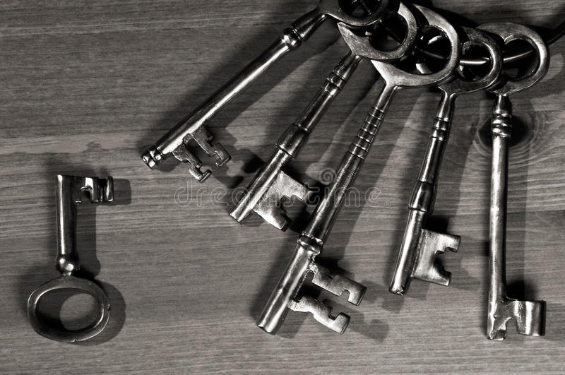 Download Antique keys stock photo. Image of metal, several, keys - 29663398