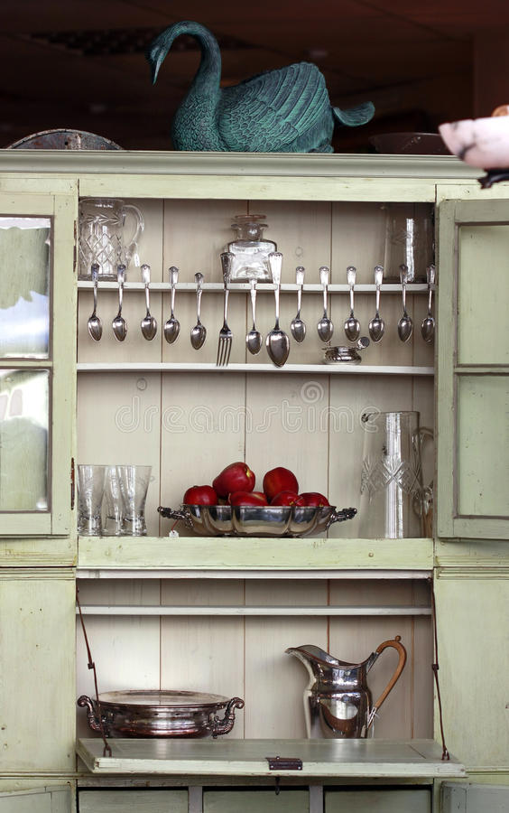 Download Antique Kitchen Cupboard Stock Photo - Image: 12989310 - Antique Kitchen Cupboard Stock Photo - Image: 12989310