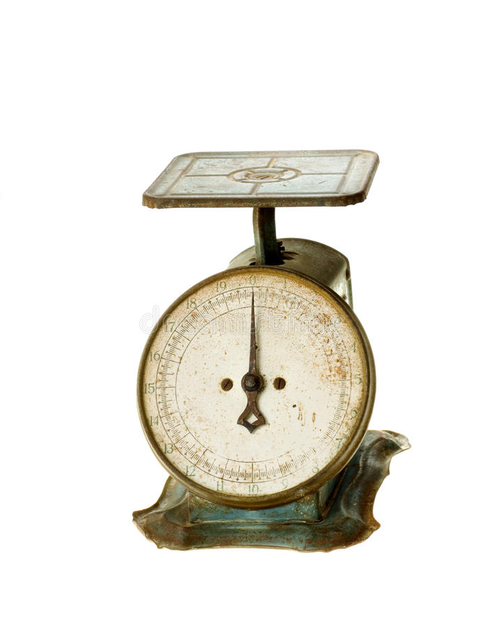 Antique Kitchen Household Scale royalty free stock photos