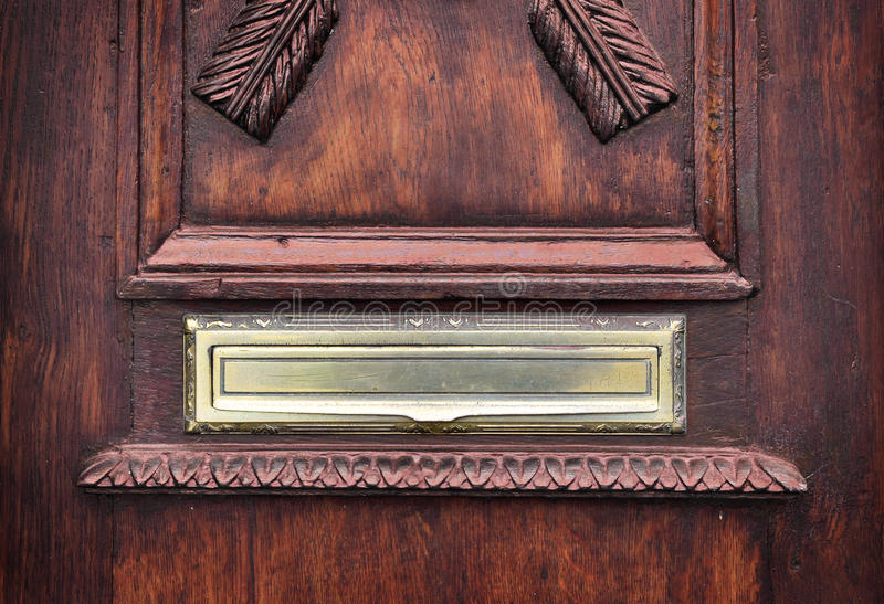 Download Antique Letter Slot In An Old Door. Stock Photo - Image of wooden & Antique Letter Slot In An Old Door. Stock Photo - Image of wooden ...