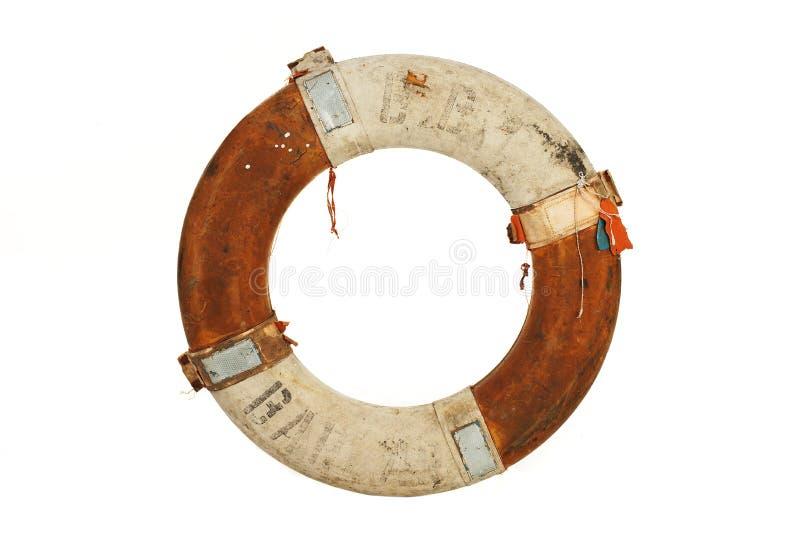 Antique life belt stock image