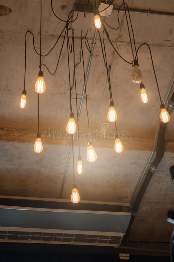Antique light bulbs hanging on the ceiling stock photo image of download antique light bulbs hanging on the ceiling stock photo image of objects glass aloadofball Gallery