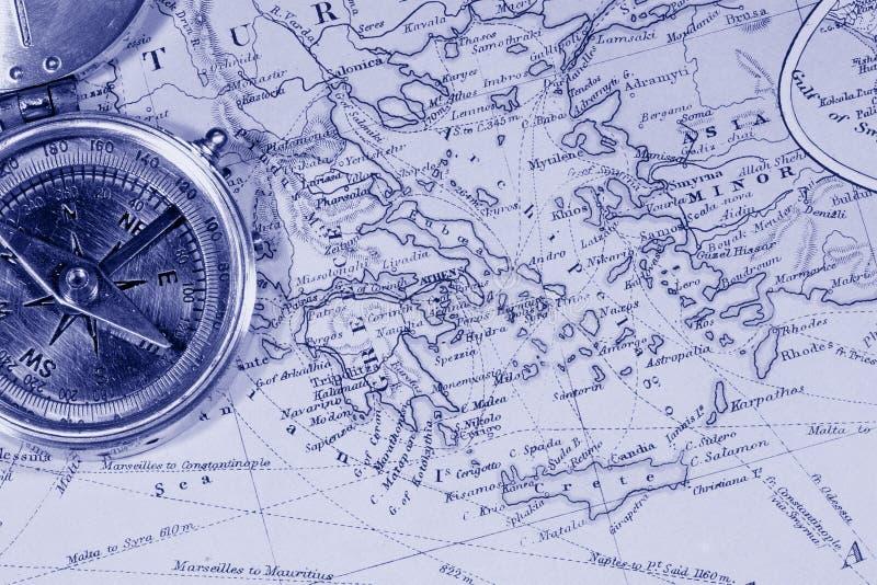 Antique Maps stock photo