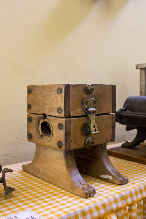 Download Antique meat grinder stock image. Image of home, wood - 29021863