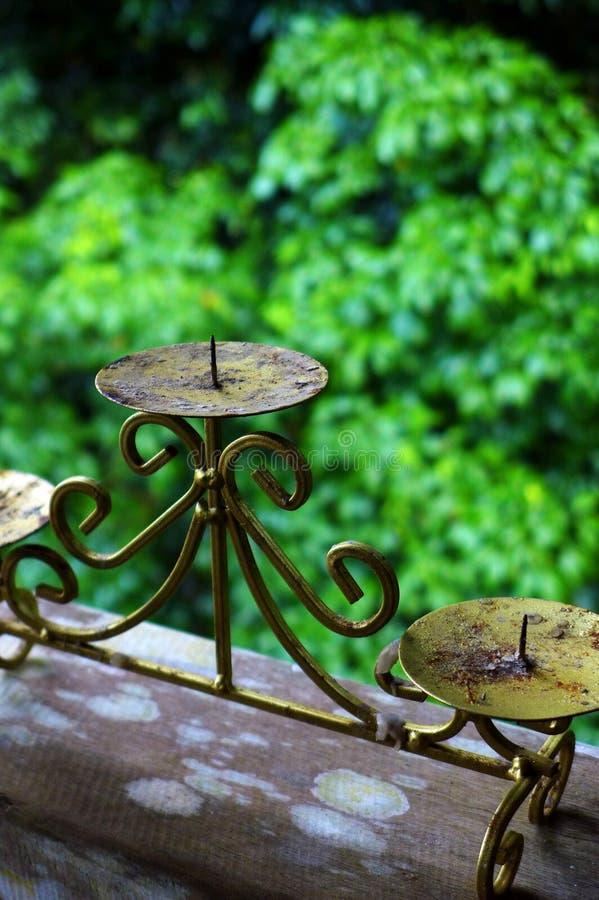 Download Antique Metal Candlestick Holder Stock Image - Image: 28759763