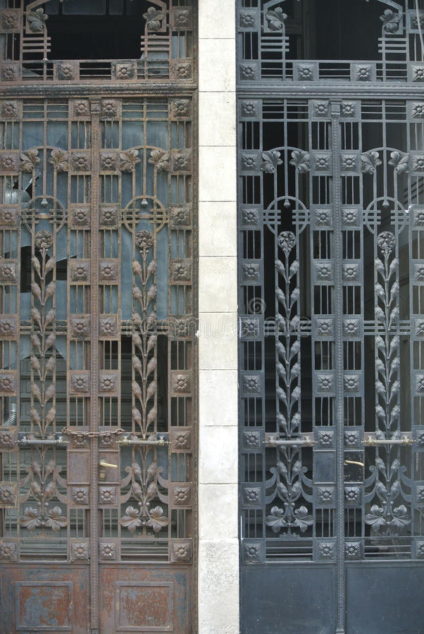 Download Antique metal doors stock image. Image of twin, choice - 32777345 - Antique Metal Doors Stock Image. Image Of Twin, Choice - 32777345