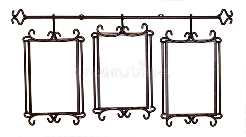 Download Antique Metal Picture Frame Stock Photo - Image: 10298764