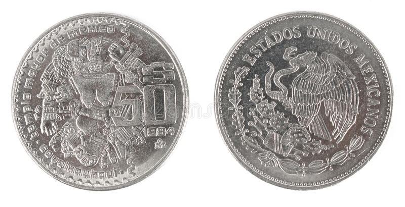 Download Antique Mexican Coin Stock Photography - Image: 29919822