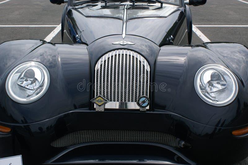 Antique Morgan at Car Show stock images