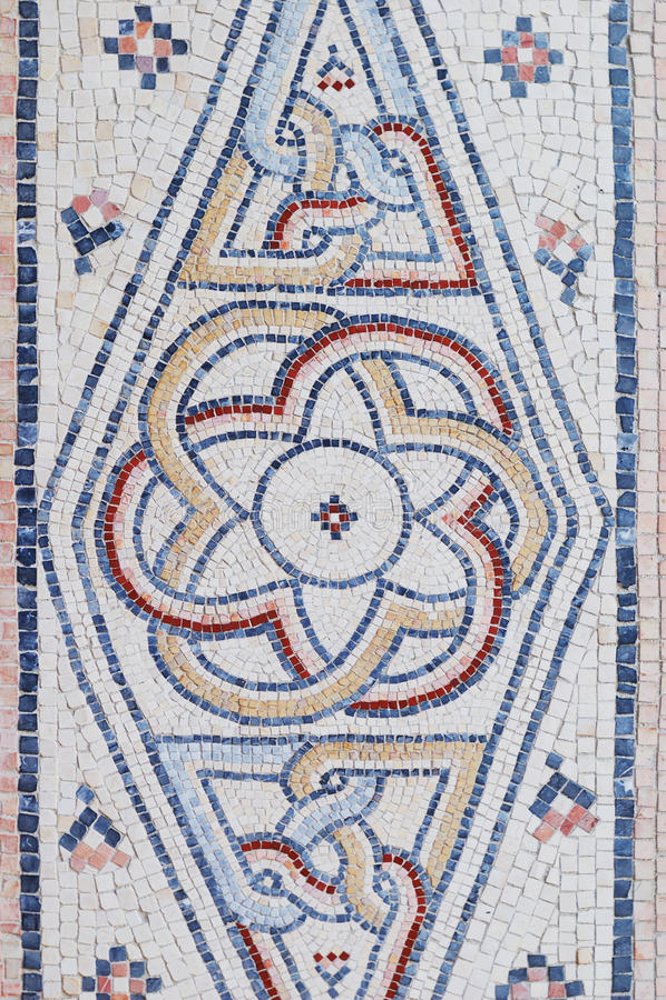 Download Antique mosaic stock photo. Image of interlocking, backgrounds - 14041596