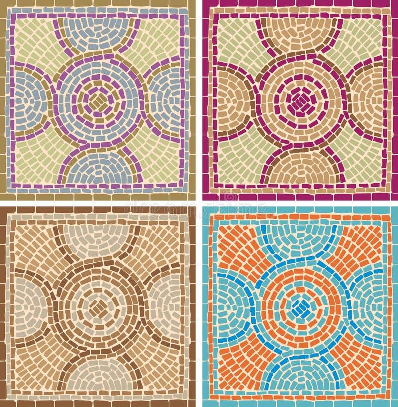 Download Antique mosaics stock vector. Illustration of classic - 25169469