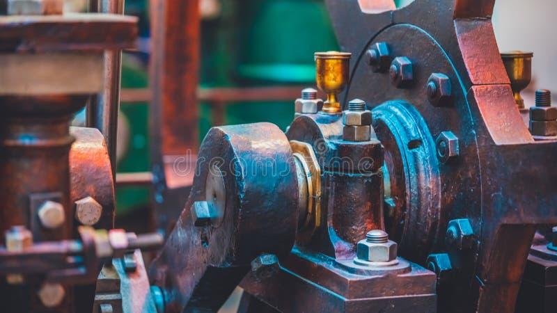 Antique Nautical Marine Engine Machine royalty free stock images