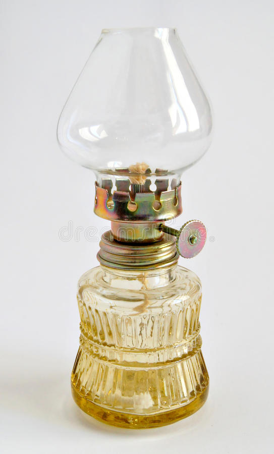 Antique oil lamp royalty free stock images